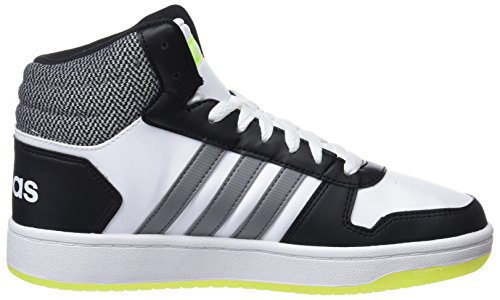 Weiß 000 2 Mid Fitnessschuhe Ftwbla adidas Negbas 0 Hoops Unisex Gritre Kinder 0xBwAWqP6R