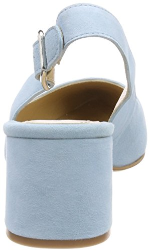 Blu alla Suede Caviglia Scarpe Donna Cupiter Blue con Cinturino GARDENIA COPENHAGEN Sky 4cqBwHqT