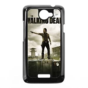 HTC One X Phone Case Black The Walking Dead HJF670427