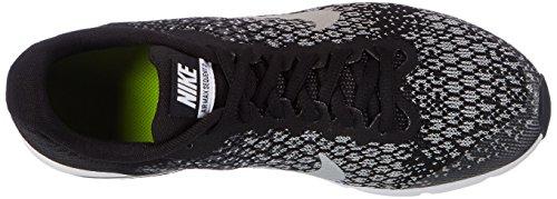Nike Air Max Sequent 2, Zapatillas de Entrenamiento para Niños Negro (Black/mtlc Silver/dk Grey/wolf Grey/volt)