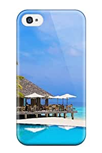 KXCUFcS2068GmuMA Snap On Case Cover Skin For Iphone 4/4s(maldives Holidays )