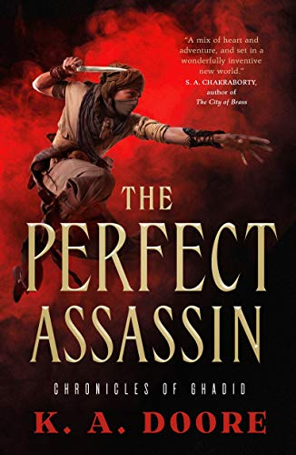 Book Cover: The Perfect Assassin: Book 1 in the Chronicles of Ghadid