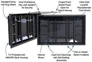 La televisión Shield 42 – 50 (Interior y Exterior para TV gabinete ...