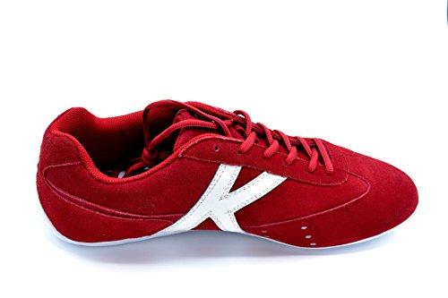 Kelme Monza Lo Rojo - Deportivo de Piel Para Hombre