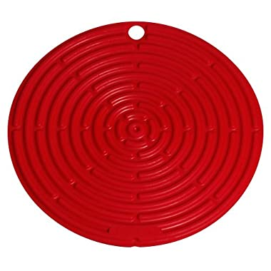Le Creuset Silicone 8  Round Cool Tool, Cerise (Cherry Red)