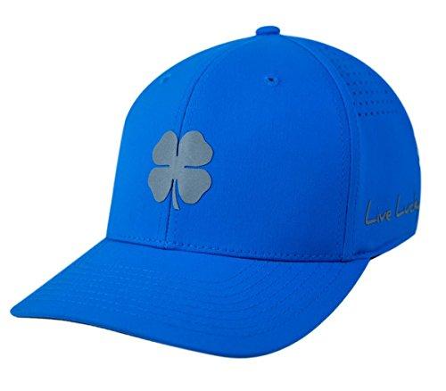 ブラッククローバー新しいLive Lucky BC Wave Perforatedブルー調節可能な帽子/キャップ