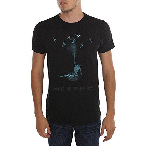Ptshirt.com-18890-Imagine Dragons Ballerina Birds Men\'s SS T-shirt by Bravado-B0117TAZH0-T Shirt Design