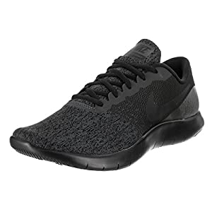 Nike Mens Flex Contact Running Shoe, Anthracite/Black, 12