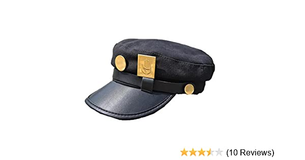 Amazon.com: Yancos JoJos Bizarre Adventure Hat Jotaro Kujou Cap Cosplay: Clothing