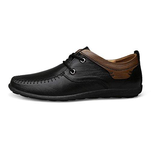 Conducción Encaje Casuales M De Trabajo Zapatos Black Hombre amp;m Departamento 7nnqE6Y