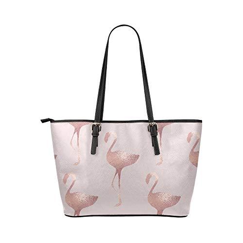 Crossbody väska utomhus vacker elegant utsökt roséguld läder handväskor väska orsaksala handväskor dragkedja axelorganiserare för damer flickor kvinnor handväska med dragkedja