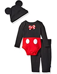 Disney Baby Boys' Mickey Mouse 3 Piece Pant Set