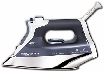 5. Rowenta DW8080 Professional Micro Steam Iron Stainless Steel Soleplate
