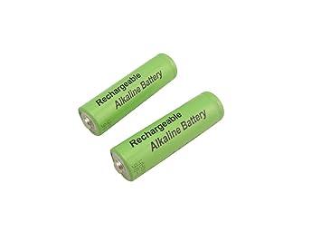 Rechargeable Alkaline Batteries >> Amazon Com Misol 2 Units Of Aa 2000mah 1 5v Rechargeable Alkaline