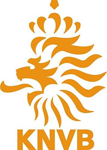 Netherland National Team Soccer Football Bumper Sticker 4'' x 5''