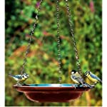 Hanging Ceramic Bird Bath / Water Dis...