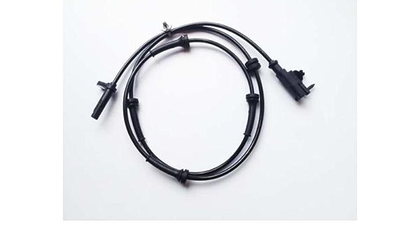 Akozon Car ABS Wheel Speed Sensor Original Equipment 47910CG000 ABS Wheel Speed Sensor Black for Infiniti FX35 FX45
