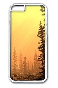 iphone 6 4.7inch Case iphone 6 4.7inch Cases Smoggy Afternoon art Polycarbonate Hard Case Back Cover for iPhone 6 transparent