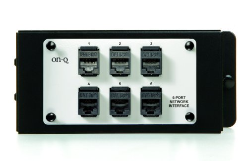 Legrand - On-Q AC1000 6Port Network Interface Module