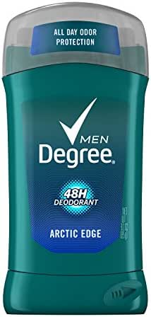 Degree for Men, Fresh Deodorant, Arctic Edge, 3-Ounce Packages (Pack of 6)