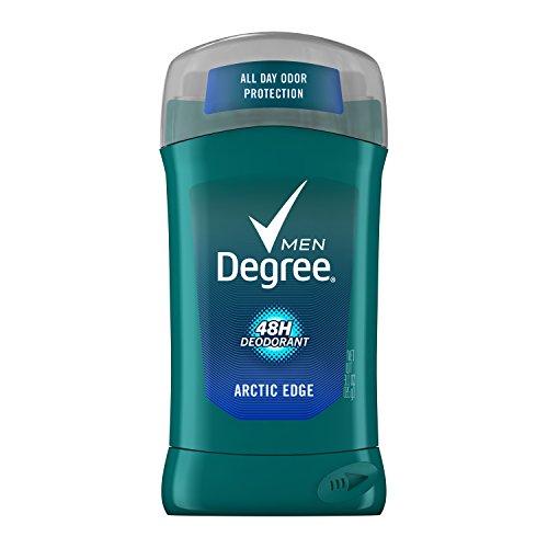 Degree Men Arctic Edge Deodorant Stick 3 oz (Pack of 6) by Degree
