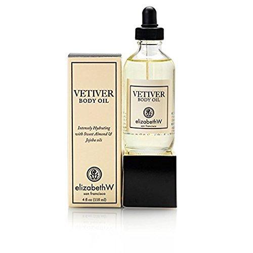 - elizabethW Vetiver Body Oil - 4 Ounce