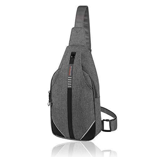 WATERFLY Small Crossbody Sling Backpack Anti Theft Backpack...
