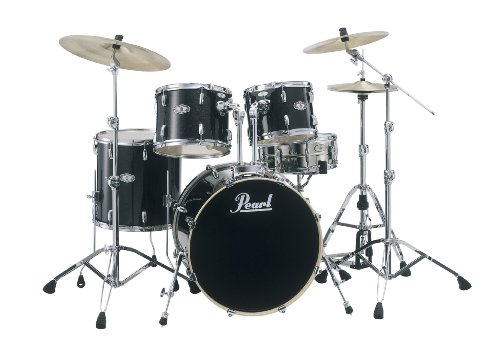 pearl-vision-vsx825p-c442-shell-pack-black-sparkle-cymbals-and-hardware-not-included