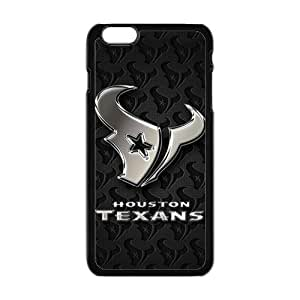 Gray Houston Texans Fahionable And Popular Back Case Cover For Iphone 6 Plus
