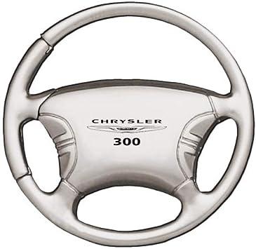 Chrysler 300/Metal cromado Tear Drop Auto clave cadena