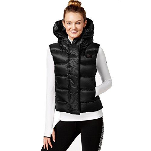 683889-010 WOMEN UPTOWN 550 VEST NIKE BLACK Nike Winter Vest