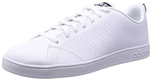 adidas Advantage Clean VS - Zapatillas para hombre, color blanco / azul marino