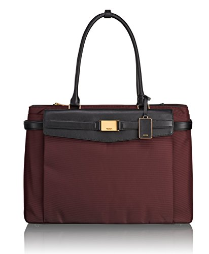 Tumi Larkin Hayward Triple Compartment Tote, Bordeaux