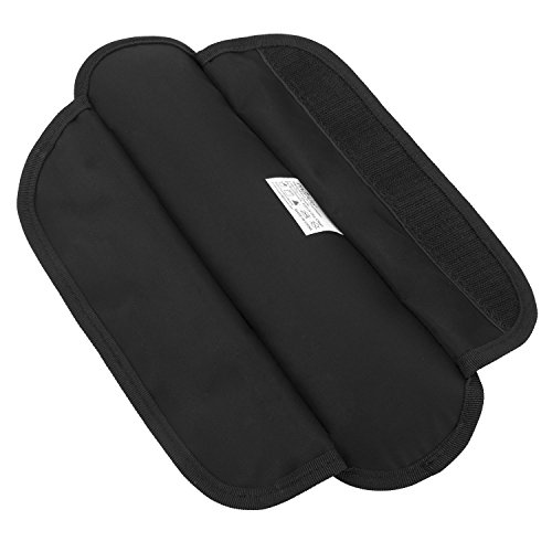 MOSISO Memory Foam Shoulder Pad Replacement Long and Super Comfortable for Bags - Small Size, Black by MOSISO (Image #2)