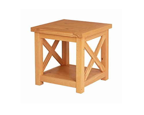 (Home Styles 5524-20 Country Lodge Honey Pine End Table Finish)