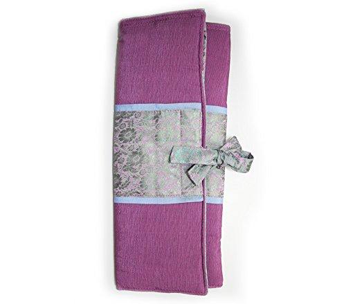 Lantern Moon Silk Combination Needle Case Purple/Aqua Special Color Run by Lantern Moon