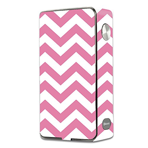 Skin Decal Vinyl Wrap for Laisimo L3 Touch Screen 200w Vape Mod stickers skins cover / Pink Chevron (Best Touch Screen Vape Mod)