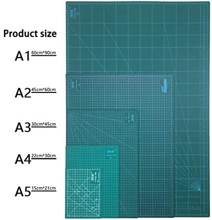 "3mm Thick Deluxe Self-Healing Cutting Mat 45cm x 60cm 18/"" x 24/"""