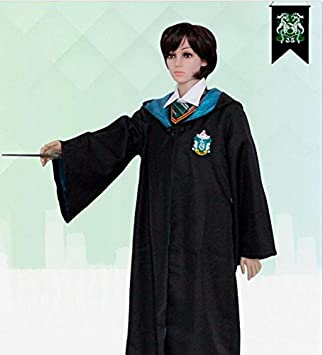 SUMMER HU & HU uniformi Harry Potter Harry capa mágico vestido de ...