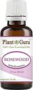 Rosewood Essential Oil 30 ml (1oz) 100% Pure Undiluted Therapeutic Grade.