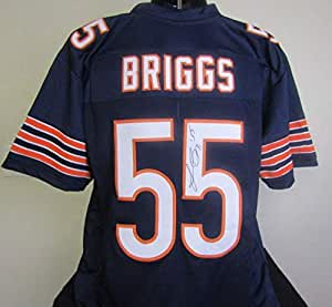 Lance Briggs autographed signed Chicago Bears Jersey at