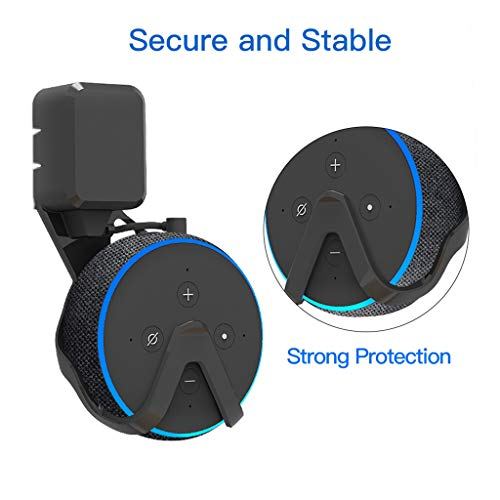 Amazon.com: Tebatu Wall Mount Stand Hanger Adapter for Amazon Echo Dot 3rd Generation Home Speaker Voice Assistants: Home & Kitchen