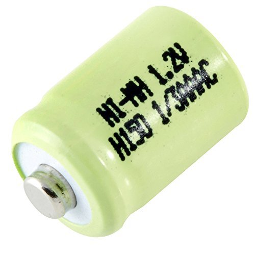 1.2v Cell - Dantona Single Cells 1/3AAA-150NM-NT Nickel Metal Hydride (NIMH) - Rechargeable