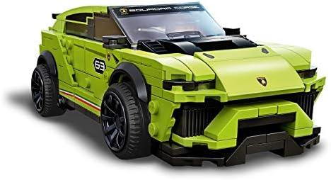 LEGO 76899 Speed Champions Lamborghini Urus ST-X & Lamborghini Huracán Super Trofeo EVO Rennwagen-Set
