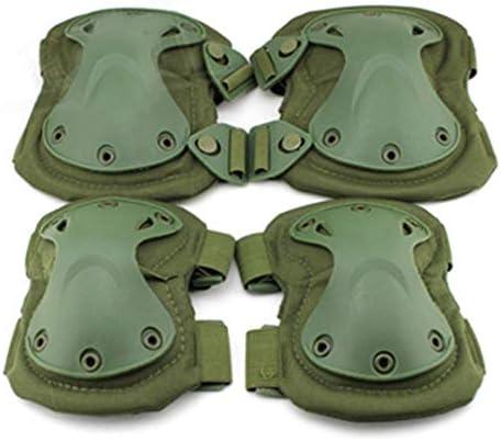 LilyAngel EVA保護ギアアウトドア乗馬ハイキングの膝パッドエルボースーツフィールド機器の膝パッドエルボースーツ (Style : Green (PA-03-OD))