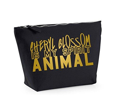 Is Black My Cheryl Cosmetics and Spirit Animal Bag Make Accessory Up Gold Organiser Blossom q178p8