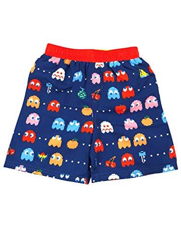 Pac-Man Toddler Boys Blue & Red Swim Trunks Board Shorts 2T ()