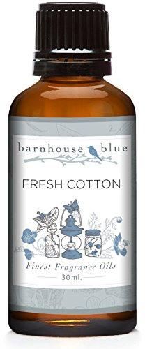 Cotton Fragrance Oil (Barnhouse - Fresh Cotton - Premium Grade Fragrance Oil (30ml))