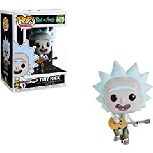Pop! Rick & Morty - Figura de Vinilo Tiny Rick with Guitar