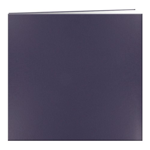 pioneer-photo-albums-mb-10-post-bound-leatherette-cover-memory-book-12-by-12-inch-bay-blue